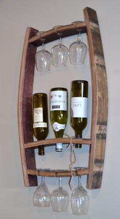 Botella de vino y portavasos