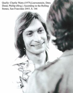 Adorable Charlie Watts Is Adorable At Being Adorable Teri Garr, Mick Jagger Rolling Stones, Rollin Stones, Like A Rolling Stone, Charlie Watts, The Beatles, Rock N Roll, People, Blues