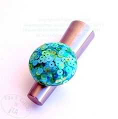Anello RIFLESSI VERDI  by Filo e colori di Ila, via Flickr