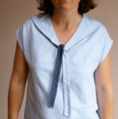 La boîte à couture de Gasparine Techniques Couture, How To Make Clothes, Tops, Women, Fashion, Sewing Box, Tutorial Sewing, Tutorials, Paper Pieced Patterns
