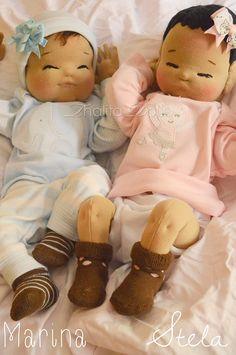 newborn waldorf inspired doll - Thalita Dol