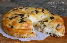 TORTA DI PATATE FUNGHI E PROVOLA- ♡❊**Have a Good Day**❊ ~ ❤✿❤ ♫ ♥ X ღɱɧღ ❤ ~ Sun 4th Jan 2015