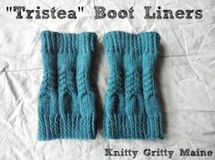 "Free+Boot+Cuff+Knit+Pattern | Tristea"" Calf Boot ... by Codi Booher 