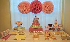 Sweetaprils: Vintage Strawberry Shortcake Themed Birthday Party