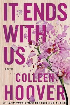 Cover Reveal: It Ends With Us by Colleen Hoover @colleenhoover
