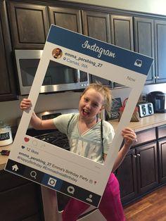 Instagram party details at HomeOfSix blog on Wordpress Instagram Birthday Party, Instagram Party, Wordpress, Happy Birthday, Blog, Beds, Happy Brithday, Urari La Multi Ani, Happy Birthday Funny