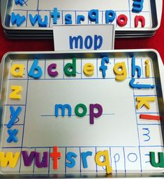 Magnetic Letter Organization Teachers, looking for awesome, low prep reading centers to use in your grade or kindergarten classroom? Check out these magnetic letter activities and ideas to use for station activities. Keep your letters organized with co Kindergarten Centers, Preschool Literacy, Kindergarten Activities, Sight Word Activities, Educational Activities, Kindergarten Independent Work, 1st Grade Centers, Vowel Activities, Leadership Activities