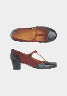 LISSIA T BAR SHOE by TOAST...too cute with tights for Winter!