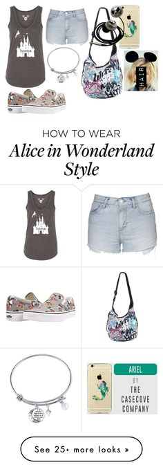 """Disney Land!!!"" by summer-luvin on Polyvore featuring Topshop, Disney and Vans"