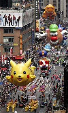 Thanksgiving e Macy's Parade a New York