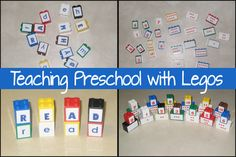 Using Legos to Teach Preschool