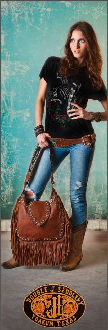 Westmont Gallery & Boutique now carries the Double J Saddlery line of fabulous leather handbags and more!!