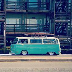 Slammed VW Bay Window Bus