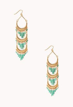 Goddess Chandelier Earrings | FOREVER21 - 1000125787