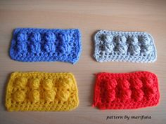 how to crochet lego blanket free pattern tutorial haga ganchillo lego