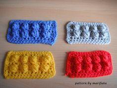 Crochet Tutorial Ideas how to crochet lego blanket free pattern tutorial haga ganchillo lego - Crochet Lego, Crochet Quilt, Afghan Crochet Patterns, Crochet Squares, Knit Or Crochet, Crochet Motif, Crochet For Kids, Crochet Crafts, Crochet Projects