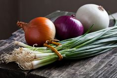 Brain Maker Foods - The Best Probiotic and Prebiotic Foods Growing Onions, Growing Vegetables, Onion Benefits Health, Types Of Onions, Prebiotic Foods, Nutrition Food List, Nutrition Tracker, Prebiotics And Probiotics, One Green Planet