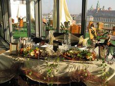 Wedding decoration in VIDOK Restaurant & Cafe - perfect place for your wedding!  http://restauracjavidok.pl/