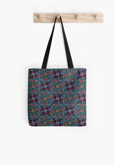 'Day of the Dead, a traditional holiday in Mexico. ' Tote Bag by Olga Matskevich Bold Colors, Colours, Holidays To Mexico, Holiday Traditions, Day Of The Dead, How To Draw Hands, Reusable Tote Bags, Shoulder Bag, Traditional