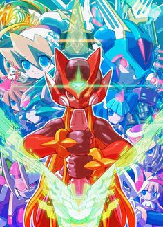 *fangirling from the Rockman Zero awesomeness of*