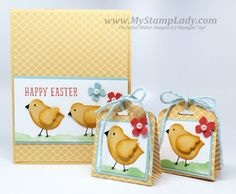 Easter Chick With Bird Punch