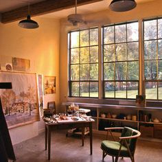 Spaces Painting Studio Design, Pictures, Remodel, Decor and Ideas