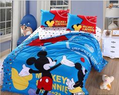 Cool Mickey Mouse Bedding For Boys