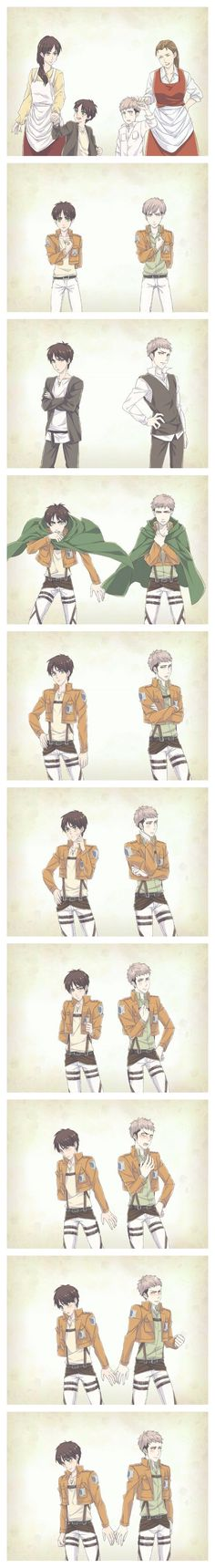 Jean x Eren is so kawaii