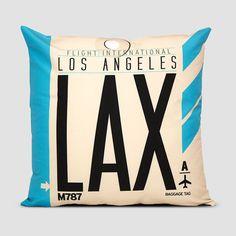 Airport IATA-Code Pillows