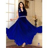 fabfiza-royal-blue-velvet-georgette-semi-stitched-anrkali-gown