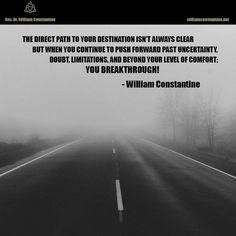 #life #uncertainty #roadblocks #mindset #quotes #inspiration #motivation #newthought #unlimitedpotential #nolimots #breakthrough #success #inspirationalquotes #motivationalquotes