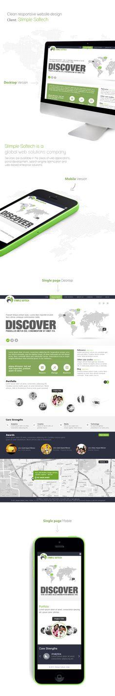 Minimal Responsive website design