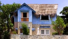 The Caves has just 12 thatched cabins and one villa, spread over 10 acres of limestone cliff.