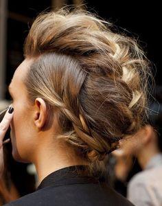braid on steroids. #hair #braid #blonde #brown