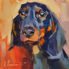 "Daily Paintworks - ""Juliette"" - Original Fine Art for Sale - © Oleksii Movchun"