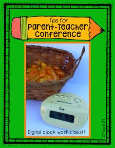 Parent-teacher Conference Tips Plus a #Freebie #Teach123