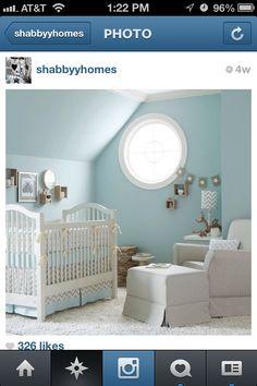 Blue bedroom shabby chic for boy/ girl