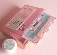 This pink tape is a old vintage tape that has a pretty pink color that is so aesthetic and is a fantastic beauty