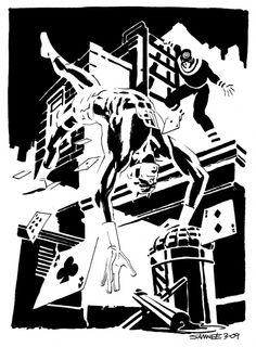 Image result for chris samnee comic artist