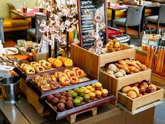 東京マリオットホテル  『ラウンジ&ダイニング G』  朝食ブッフェ  2017年3月