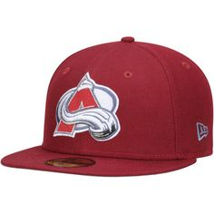 super popular 61b92 57696 Colorado Avalanche New Era Team Color 59FIFTY Fitted Hat - Burgundy