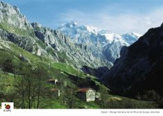The Picos de Europa National Park - photo from https://www.facebook.com/SeeSpain   article about National Parks in Spain:  http://bobbovington.blogspot.com.es/2011/05/national-parks-in-spain.html