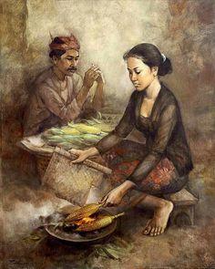 Karya Lukisan Rustamadji