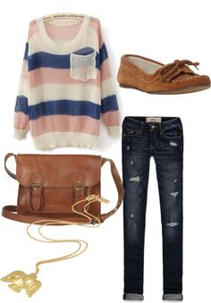 Fall laid back outfit... Minus the necklaace, I don't care for the necklace with this outfit:p