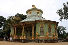 Chinese tea house, Park Sanssouci, Potsdam, Germany
