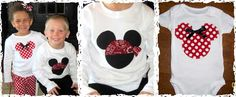 Easy Mickey applique to recreate. Love the pirate Mickey!