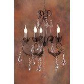 Found it at Wayfair Australia - Marianna Five Light Vintage Provincial Chandelier in Bronze