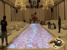 Interactive Floor - 3D Projection Mapping for Indian Weddings - YouTube