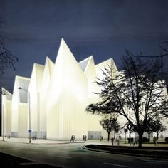 Spanish architects Estudio Barozzi Veiga have won first prize in a competition to design the new Szczecin Philharmonie concert hall in Szczecin, Poland. EBV are a young practice based in Barcelona and earlier this year were among the winners at the Young Catalan Architects awards. EBV are a young practice based in Barcelona and earlier