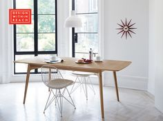 Dulwich Extension Table | Designed by Matthew Hilton | Design Within Reach